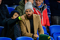 Bruno Saltor Captain of Brighton & Hove Albion (2)  watching from the stands during the Premier League match between Brighton and Hove Albion and Crystal Palace at the American Express Community Stadium, Brighton and Hove, England on 4 December 2018. Photo by Edward Thomas / PRiME Media Images.