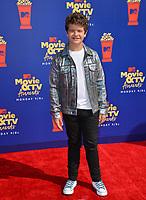 SANTA MONICA, USA. June 16, 2019: Gaten Matarazzo at the 2019 MTV Movie & TV Awards at Barker Hangar, Santa Monica.<br /> Picture: Paul Smith/Featureflash