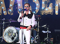 Ricky Wilson - Kaiser Chiefs perform at the Pub in the Park's Drive In Garden Party at Knebworth Park, Herts on Saturday September 12th 2020<br /> CAP/ROS<br /> ©ROS/Capital Pictures