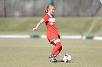 Boyds, Maryland - March 15, 2014. Tori Huster of the Washington Spirit. The Washington Spirit during the Meet the Team at the Maryland SoccerPlex.