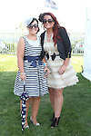 Lorraine McKenna and Linda Newman at the Bellewstown Races..Picture Jenny Matthews/Newsfile.ie