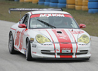 #36 Porsch, 2nd place GT class, the Grand Prix od Miami at Homestead-Miami Speedway on Saturday, March 5, 2005.(Grand American Road Racing Photo by Brian Cleary)