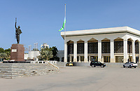 DJIBOUTI , conference and business center, built by chinese company