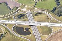 Deutschland, Schleswig- Holstein, Luebeck, A20, A1, Autobahnkreuz