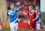 Aberdeen v St Johnstone…29.04.17     SPFL    Pittodrie<br />Liam Craig<br />Picture by Graeme Hart.<br />Copyright Perthshire Picture Agency<br />Tel: 01738 623350  Mobile: 07990 594431