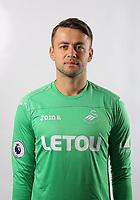 Pictured: Lukasz Fabianski. Tuesday 11 July 2017<br /> Re: Swansea City FC training at Fairwood training ground, UK