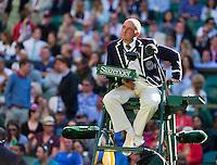 30-06-12, England, London, Tennis , Wimbledon, Umpire