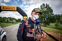 3rd July 2021, Liepaja, Latvia;  GRYAZIN Nikolay (LVA), ALEKSANDROV Konstantin (LVA), TEAM Nikolay GRYAZIN, VW Polo GTI during the 2021 FIA ERC Rally Liepaja, 2nd round of the 2021 FIA European Rally Championship