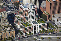 aerial photograph Gap, Inc corporate headquarters building, San Francisco, California