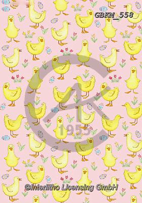 Kate, GIFT WRAPS, GESCHENKPAPIER, PAPEL DE REGALO, paintings+++++Easter Ducklings.,GBKM558,#gp#, EVERYDAY