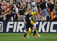 DC United midfielder Chris Pontius (13)    DC United defeated The Columbus Crew 3-1  at the home season opener, at RFK Stadium, Saturday March 19, 2011.
