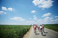 riding into the beautiful clowds<br /> <br /> 2014 Belgium Tour<br /> stage 4: Lacs de l'Eau d'Heure - Lacs de l'Eau d'Heure (178km)