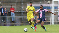 Jude Russell of Brentford B in action during Dulwich Hamlet vs Brentford B, Friendly Match Football at Champion Hill Stadium on 31st July 2021