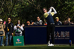 Players in action during the Royal Trophy Europe vs Asia Golf Championship on the Asian Game course at the Dragon Lake Golf Club in Guangzhou, China on 21 December 2013. Photo by Xaume Olleros / The Power of Sport Images