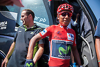 Castellon, SPAIN - SEPTEMBER 7: Nario Quintana during LA Vuelta 2016 on September 7, 2016 in Castellon, Spain