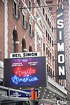 'Angels In America' - Theatre Marquee Unveiling