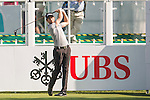 Grégory Bourdy of France tees off the first hole during the 58th UBS Hong Kong Open as part of the European Tour on 08 December 2016, at the Hong Kong Golf Club, Fanling, Hong Kong, China. Photo by Marcio Rodrigo Machado / Power Sport Images