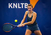 Amstelveen, Netherlands, 16  December, 2020, National Tennis Center, NTC, NK Indoor, National  Indoor Tennis Championships, : Quirine Lemoine  (NED) <br /> Photo: Henk Koster/tennisimages.com