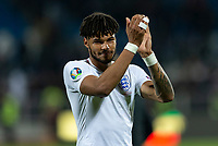 Tyrone Mings of England celebrates after the UEFA Euro 2020 Qualifying Group A match between Kosovo and England at Fadil Vokrri Stadium on November 17th 2019 in Pristina, Kosovo. (Photo by Daniel Chesterton/phcimages.com)<br /> Photo PHC Images / Insidefoto <br /> ITALY ONLY