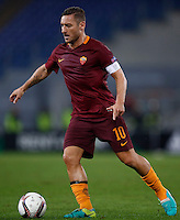 Calcio, Europa League, Gguppo E: Roma vs Austria Vienna. Roma, stadio Olimpico, 20 ottobre 2016.<br /> Roma's Francesco Totti in action during the Europa League Group E soccer match between Roma and Austria Wien, at Rome's Olympic stadium, 20 October 2016. The game ended 3-3.<br /> UPDATE IMAGES PRESS/Isabella Bonotto