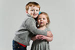 WATERBURY, CT- 10 December 2015-121015EC10-  Christmas Kids Metro. 3-year-old Tyler Ladrigan and his 18-month-old brother, Avery, are from Watertown. Tyler wants a robot and a Ninja Turtle for Christmas. Erin Covey Republican-American