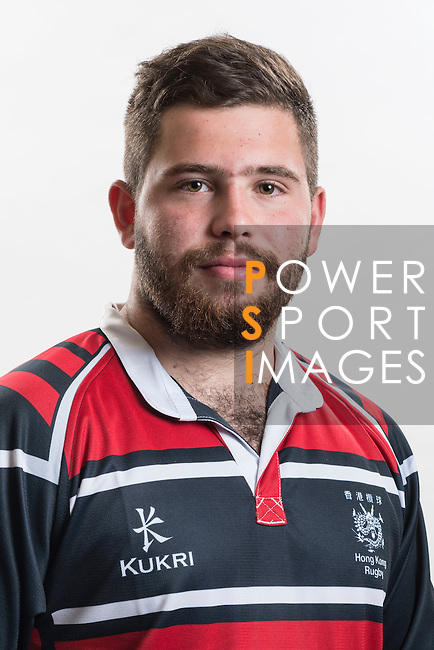 Hong Kong Junior Squad team member Chris Shipmand poses during the Official Photo Session Day at King's Park Sports Ground ahead the Junior World Rugby Tournament on 25 March 2014. Photo by Andy Jones / Power Sport Images