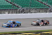 #16: Austin Hill, Hattori Racing Enterprises, Toyota Tundra Toyota Tsusho #51: Chandler Smith, Kyle Busch Motorsports, Toyota Tundra JBL