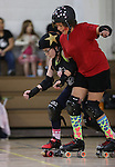 Carson Victory Rollers scrimmage at the Community Center, in Carson City, Nev. on Sunday, Feb. 12, 2017.  <br /> Photo by Cathleen Allison/Nevada Photo Source