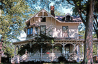 Riverside:  Suburban House, c. 1875. Photo '78.