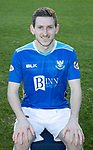 St Johnstone FC Photocall….2018/19 Season<br />Blair Alston<br />Picture by Graeme Hart.<br />Copyright Perthshire Picture Agency<br />Tel: 01738 623350  Mobile: 07990 594431
