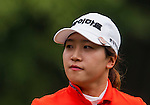 Ji-Hyun Kim of Korea looks on during the Hyundai China Ladies Open 2014 on December 10 2014 at Mission Hills Shenzhen, in Shenzhen, China. Photo by Xaume Olleros / Power Sport Images