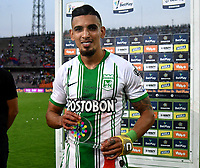 match of the 7th date between Atletico Nacional and Deportivo Independiente Medellin, for the BetPLay DIMAYOR I Leguage 2020 played at the Atanasio Girardot Stadium in Medellin city. / Photo: VizzorImage / Leon Monsalve / Cont.