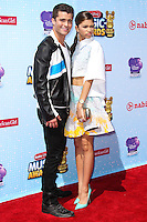 LOS ANGELES, CA, USA - APRIL 26: Spencer Boldman, Zendaya Coleman at the 2014 Radio Disney Music Awards held at Nokia Theatre L.A. Live on April 26, 2014 in Los Angeles, California, United States. (Photo by Xavier Collin/Celebrity Monitor)