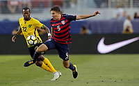 Santa Clara, CA - Wednesday July 26, 2017: Matt Besler during the 2017 Gold Cup Final Championship match between the men's national teams of the United States (USA) and Jamaica (JAM) at Levi's Stadium.