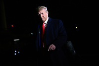 United States President Donald J. Trump speaks to reporters before departing the South Lawn of  the White House in Washington, DC en route to New York, New York on Saturday, November 2, 2019.<br /> Credit: Erin Scott / Pool via CNP / MediaPunch