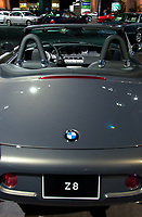BMW convertible at the Luxury car show 2002<br /> <br /> photo : (c)  Images Distribution
