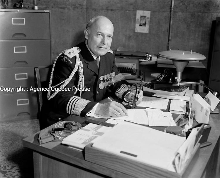 Garde paroissial,dans les annees cinquantes,<br /> quebec,  (date inconnue)<br /> <br /> PHOTO : : Agence Quebec Presse
