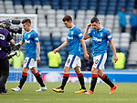 Dejection from Rangers at full time