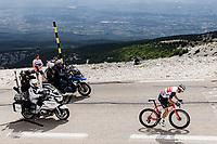 Bauke Mollema (NED/Trek-Segafredo) up the famed Mont Ventoux <br /> <br /> Stage 11 from Sorgues to Malaucène (198.9km)<br /> 108th Tour de France 2021 (2.UWT)<br /> <br /> ©kramon