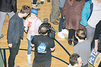 Reporters interview attendees before Democratic presidential candidate and former South Bend, Ind., mayor Pete Buttigieg speaks at his Primary Night rally at Nashua Community College in Nashua, New Hampshire, on Tue., Feb. 11, 2020. Democratic presidential candidate and Vermont senator Bernie Sanders was projected to win the New Hampshire Democratic Primary, but Buttigieg came in a close second.
