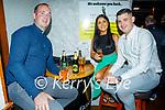 Enjoying the evening in Killarney on Saturday, l to r: Michael Kennedy, Orla Kennedy (Killarney) and Glen Mitchel