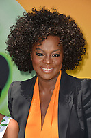 """LOS ANGELES, USA. August 10, 2019: Viola Davis at the premiere of """"The Angry Birds Movie 2"""" at the Regency Village Theatre.<br /> Picture: Paul Smith/Featureflash"""