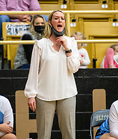Kimberly Jenkins, head girls basketball coach for Springdale Har-ber at Tiger Arena, Bentonville, AR January 5, 2021 / Special to NWA Democrat-Gazette/ David Beach