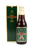 BNPS.co.uk (01202 558833)<br /> Pic: Juliens/BNPS<br /> <br /> It may have gone a little flat...<br /> <br /> Two unopened bottles of specially brewed 'Royal Celebration' ale - given as a gift from the ill-fated wedding of Charles and Diana in 1981 have emerged for sale - alongside three slices of their wedding cake.<br /> <br /> The 275ml bottles of 'Royal Celebration Ale' were handed out to guests at the lavish wedding reception at Buckingham Palace on July 29, 1981.<br /> <br /> The ale, which according to the packaging has a 'rich nutty flavour', was produced by brewers Watneys of London for the landmark occasion.<br /> <br /> The 8ins bottles are still sealed with gold foil, although it is strongly advised not to drink their contents as the taste is unlikely to be pleasing to the palate. They are tipped to sell for £600 each.<br /> <br /> The guest also took home three slices of Charles and Diana's wedding fruit cake, which will also go under the hammer with Los Angeles based Julien's Auctions.