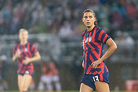 EAST HARTFORD, CT - JULY 1: Alex Morgan #13 of the United States during a game between Mexico and USWNT at Rentschler Field on July 1, 2021 in East Hartford, Connecticut.