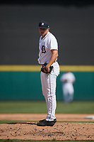 Detroit Tigers pitcher Will Vest (22) during a Florida Instructional League intrasquad game on October 24, 2020 at Joker Marchant Stadium in Lakeland, Florida.  (Mike Janes/Four Seam Images)