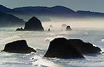 Sea stacks, Cannon Beach, Oregon, USA