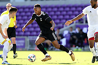 Orlando, Florida - Monday January 15, 2018: Mason Toye. Match Day 2 of the 2018 adidas MLS Player Combine was held Orlando City Stadium.