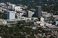 aerial photograph Sherman Oaks, San Fernando Valley, Los Angeles, California