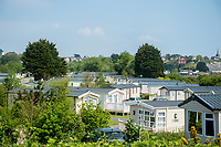 General view of Kiln Park Caravan site, Tenby, Pembrokeshire, Wales, UK